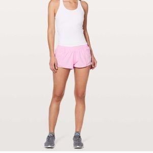 NWT LULULEMON Pink HOTTY HOT Shorts